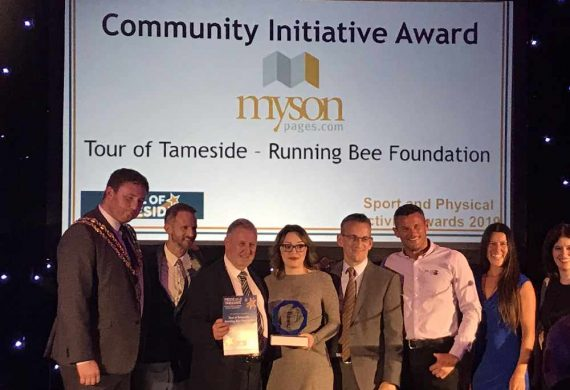 The Running Bee Foundation wins Community Initiative Award